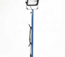 Faro a lampade fluorescenti con asta telescopica serie PFT